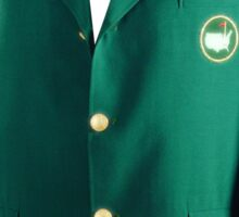 The Masters Golf Green Jacket Sticker