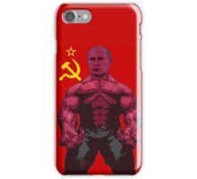 VLADIMIR PUTIN on steroids iPhone Case/Skin