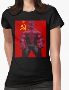 VLADIMIR PUTIN on steroids Womens Fitted T-Shirt
