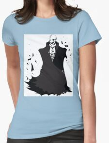 Undertale - W.D. Gaster Womens Fitted T-Shirt