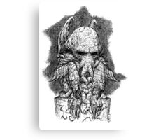 CTHULHU´S SCULPTURE Canvas Print