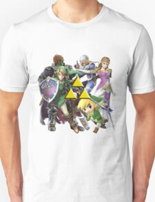 Legend Of Zelda Characters Unisex T-Shirt