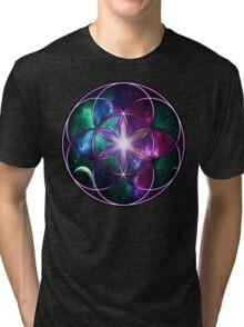 Sacred Geometry: Seed of Life - Universal Energy III Tri-blend T-Shirt