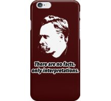 Friedrich Nietzsche Quote 1 iPhone Case/Skin