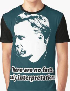Friedrich Nietzsche Quote 1 Graphic T-Shirt