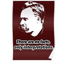 Friedrich Nietzsche Quote 1 Poster