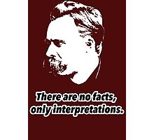 Friedrich Nietzsche Quote 1 Photographic Print