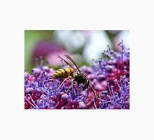 Wasp on a Purple Hydrangea Unisex T-Shirt