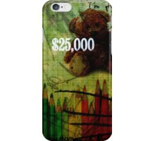 plushes and monsters #11 iPhone Case/Skin