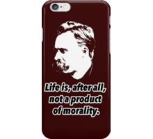 Friedrich Nietzsche Quote 2 iPhone Case/Skin