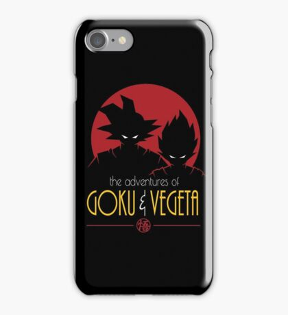 Adventures of Goku & Vegeta iPhone Case/Skin