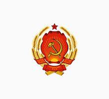 Emblem of the Ukrainian Socialist Republic, 1949-1992 Unisex T-Shirt