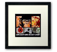 Lancelot Link: Secret Chimp Framed Print