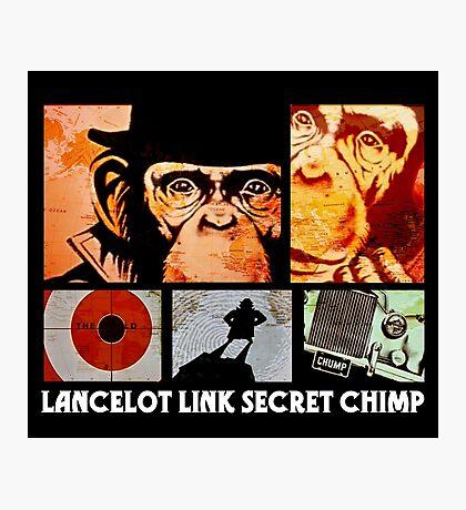 Lancelot Link: Secret Chimp Photographic Print