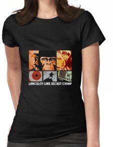 Lancelot Link: Secret Chimp Womens Fitted T-Shirt
