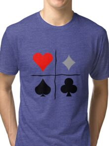 Homestuck Relationship Quadrants Graphic  Tri-blend T-Shirt