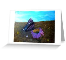 A Butterfly's World Greeting Card