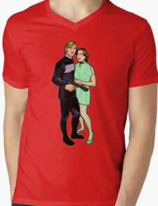Logan 5 & Jessica 6 Mens V-Neck T-Shirt