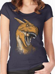 Charisaurus Rex Women's Fitted Scoop T-Shirt