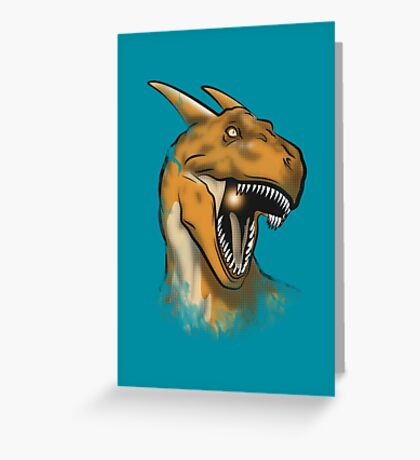 Charisaurus Rex Greeting Card