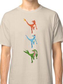 Pokesaurs - Dromaeosaurus Starterus Classic T-Shirt