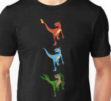 Pokesaurs - Dromaeosaurus Starterus Unisex T-Shirt