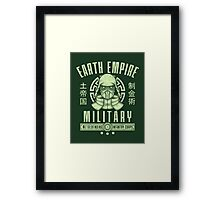 Avatar Earth Empire Framed Print