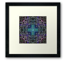 Sci Fi Metallic Shell Framed Print