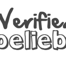 Verified Belieber Sticker