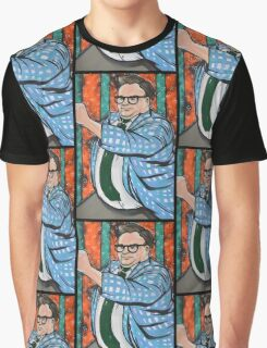 Chris Farley SNL Graphic T-Shirt