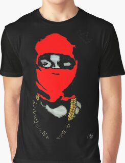 Red Ye (Masked) Graphic T-Shirt