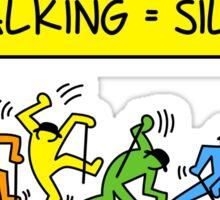 Pop Shop Silly Walks Sticker