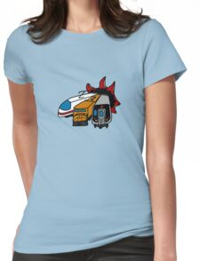 Trains?! Womens Fitted T-Shirt