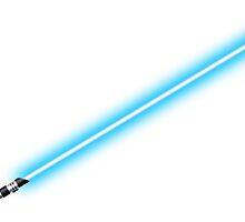Star Wars - Blue Lightsaber by KraZerrr1