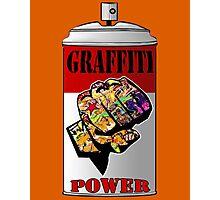 Graffiti power Photographic Print