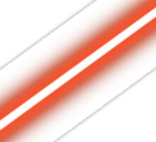 Star Wars - Red lightsaber Sticker