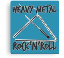 Heavy Metal Rock & Roll Canvas Print