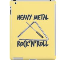 Heavy Metal Rock & Roll iPad Case/Skin