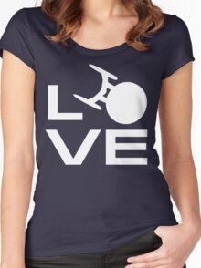 Love Trek Women's Fitted Scoop T-Shirt