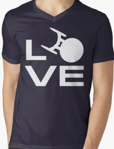 Love Trek Mens V-Neck T-Shirt