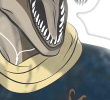 Hipstereosaurus Rex (Version 2) Sticker