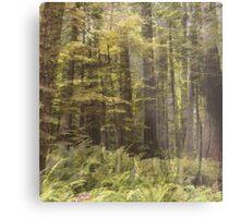 Yellow Woodland Metal Print