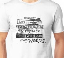 Rise Against - Swing life away. Unisex T-Shirt