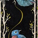 Enchanted Blue by Anita Inverarity