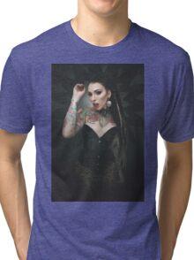 leopard queen Tri-blend T-Shirt