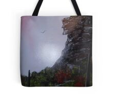 Old Man on the Mountain 2 New Hampshire Tote Bag
