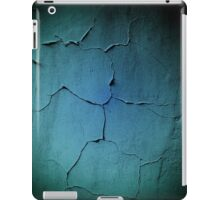 Grunge dark wall texture background iPad Case/Skin