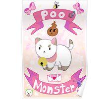 Poo Monster Poster