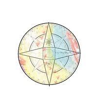 Chalk Compass by suzyq42