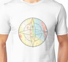 Chalk Compass Unisex T-Shirt